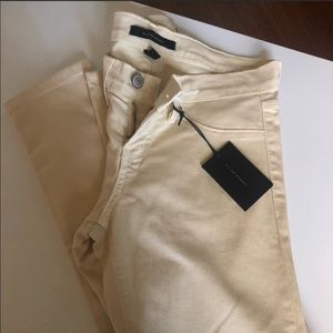 Cream colored flying monkey jeans! New with tags!!